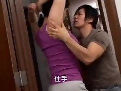 Japanese mom's hirsute armpit
