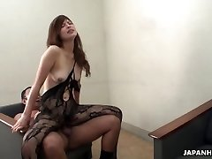 Farmer hotty masturbates and sucks her uncle