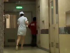 Naughty Japonské spodní sharking pro nemocnice, zdravotní sestra