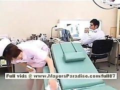 Akiho Yoshizawa Sexy Asijské sestra si užívá škádlení lékař