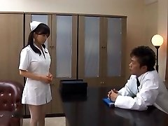 Doctor Has Hina Hanamis Taut Nurse Love Tunnel To Fuck