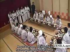 Textade Japansk milfs grupp förspel restauranger fest