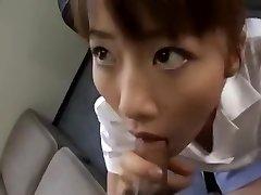 Pazzo video fatto in casa con il Giapponese, Pompino scene