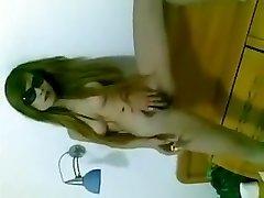 Chinese girl pussy smokin'
