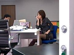 Nejžhavější Japonská děvka Maki Hojo v Pohádkové JAV uncensored Hardcore scény