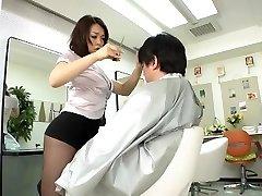 Avs-museum100438 Erotic Mini Petticoat Barber Reiko Nakamori Sc1 Uncensored