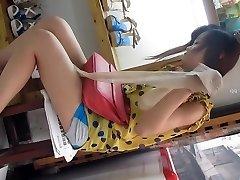 Chinese gal upskirt part Two