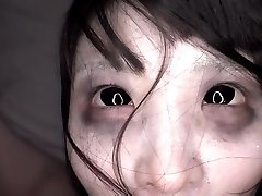 JAV freaky CMNF frigging with shaved ghost Subtitled