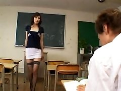 Horny japanese instructor - uncensored