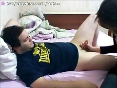 chinese mouthfull whit romantic smooching