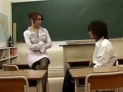 Japanese Teacher Seduced By Her Student,By Blondelover.