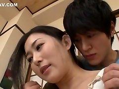 驚きの日本人の女性ミオ北川最適な運指、妻JAVシーン