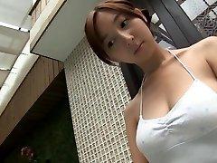 RIHO夏求-お風呂白水着(ヌード)
