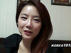 KOREA1818.COM - Super-fucking-hot Korean Girl Filmed for Romp