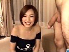 Subtitles - Japanese babe Nene Iino blow pink cigar