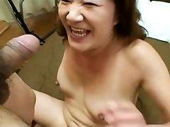 Azijos Močiutė Myli Jaunų Dick