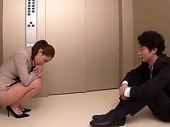 Horny Japanese slut in Best Secretary, Gigantic Tits JAV scene