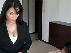 Luxurious Japanese slut Miki Sato in Hottest Secretary, Big Tits JAV clip