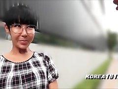 醜韓国MILFとガラス日本