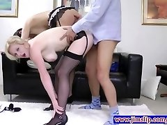 British couple records their threesome