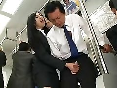 Chinese Hand Job In Bus
