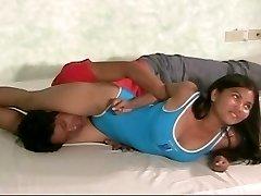 chick wrestling