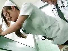 Nasty Japanese girl Koi Aizawa in Cool Nurse JAV scene