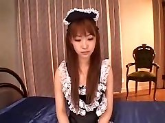 JAPANESE MAID DOUBLE PENETRATION CREAMPIE