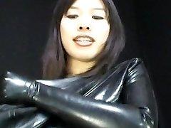 Chinese Latex Catsuit 65
