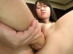 Asian Japanese Cunt Going Knuckle Deep