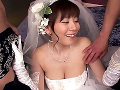 Here Shoots A Load The Bride