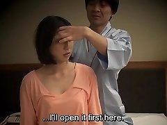 Subtitled Japanese hotel rubdown deep throat sex nanpa in HD