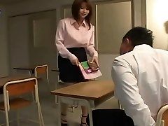 yui asahina - sexy profesor japonez
