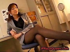 Fleshy hiromi aoyama gets pussy gobbled part6