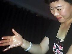 Asian indian desi cock massage with cum - part 2