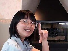 Japanese Glasses Female Blowjob