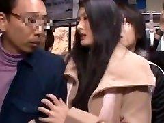 Risa Murakami, Madoka Kitahara in Drilled In Front Of Husband