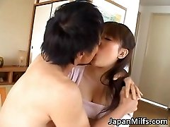 Kinky japanese MILFS sucking and fucking
