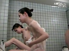 Very hot Chinese girls soaping their wonderful smooth skin dvd 03119