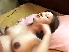 Oriental pregnant creampied after fucking