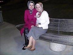 Turc, arabe, asiatique hijapp mélanger ph