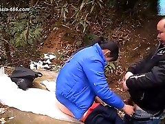 ###ping asian man smashing callgirls.27