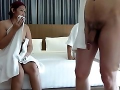 Couple share japanese hooker for swing asia crazy part 1