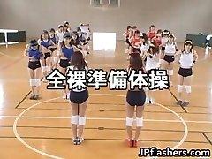Amateur japanische teens exposed spielen part3