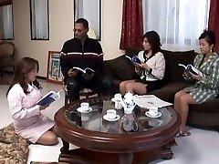 Japanische Frauen Lüstern auf Schwarzen Schwanz