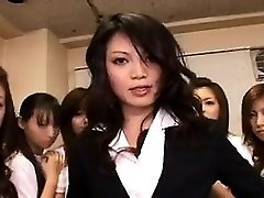 Asian Babe in Group intercourse