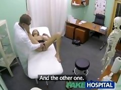 FakeHospital Hot girl with monstrous melons gets doctors treatment before learning she can squirt