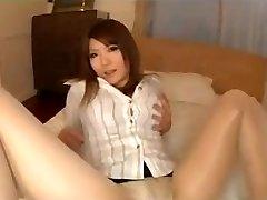 Collants Asiatique Jambes Taquiner Avec Culotte