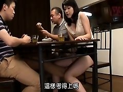 poilue asiatique bribes d'obtenir un hardcore frapper