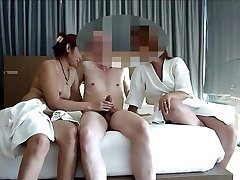 couple share asian call girl for sway asiaNaughty part 1